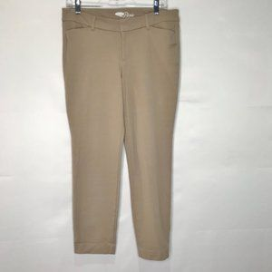 """OLD NAVY  Pants Stretch Mid-Rise """"The Pixie sz 10"""